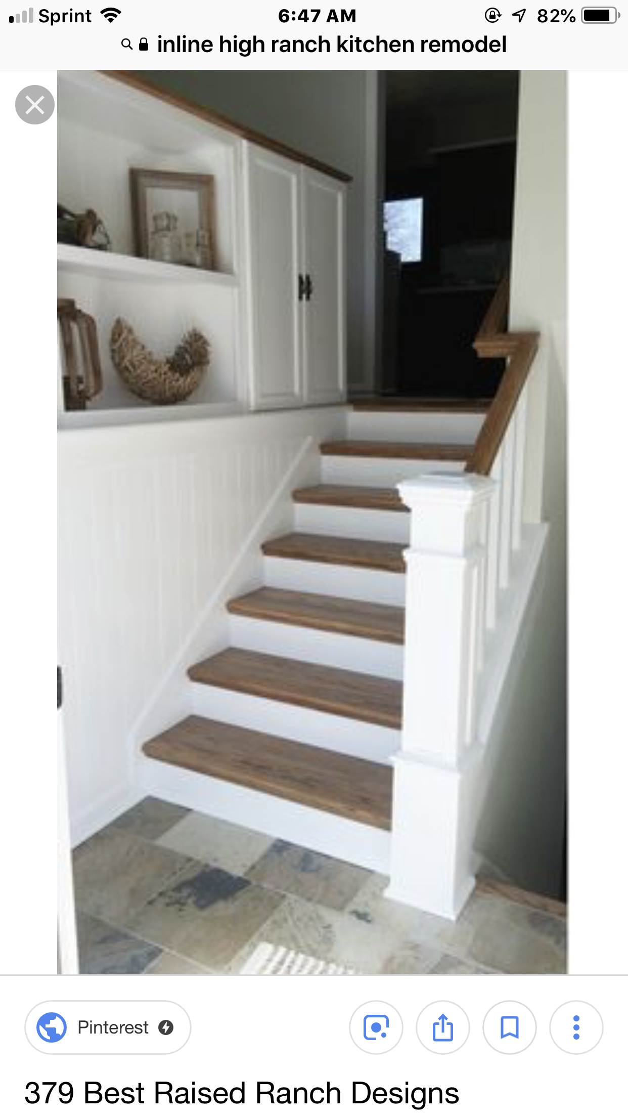 High Inline Ranch Entryway Remodel   Kitchen Remodel Ideas ... on rancher remodel, raised ranch basement remodel, kitchen counter remodel,