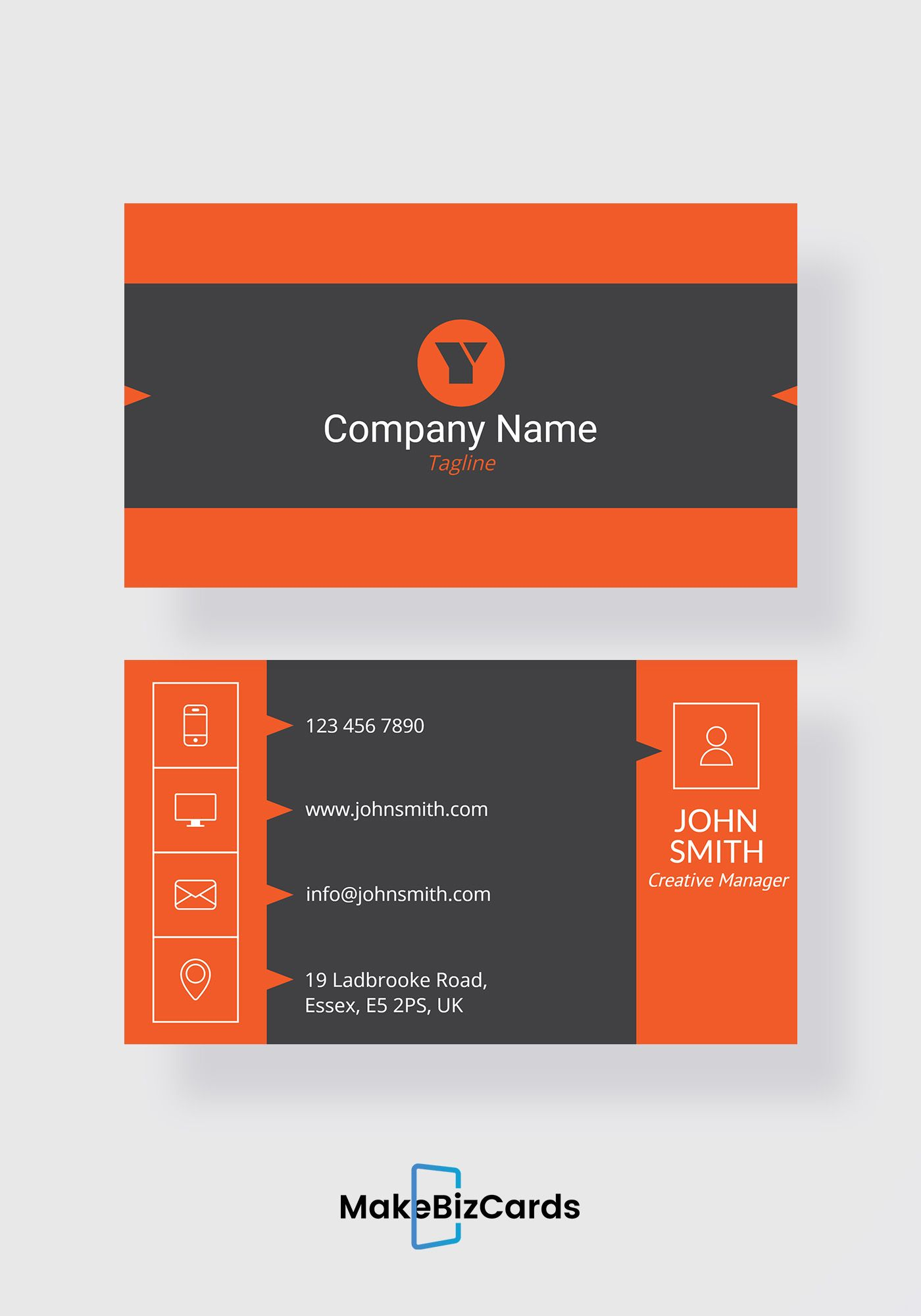 Free insurance agent business card trendy business cards