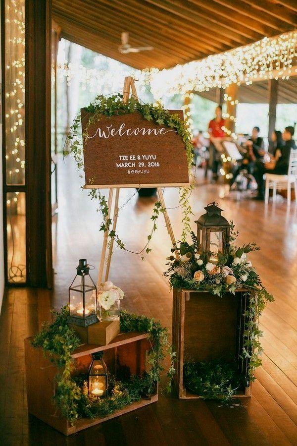 New Rustic Wedding Decoration Ideas