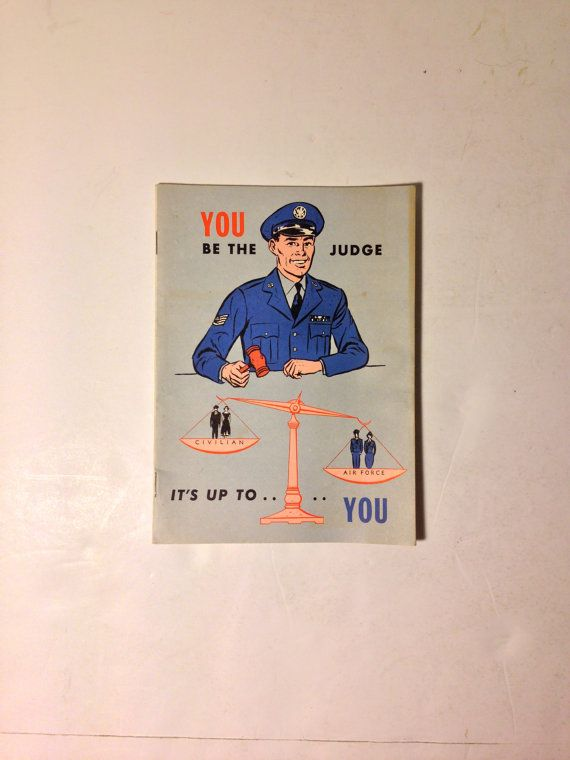 1954 Air Force Recruitment Booklet.  RARE. by BigAlsKollects, $35.00