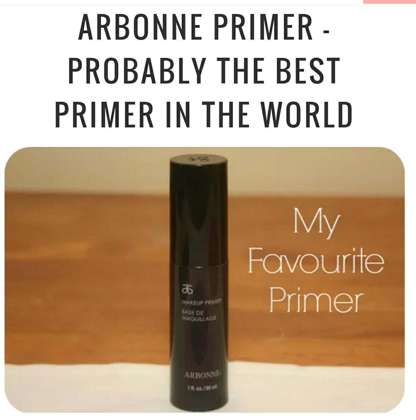 I love this primer and Makeup Monster does too. With out