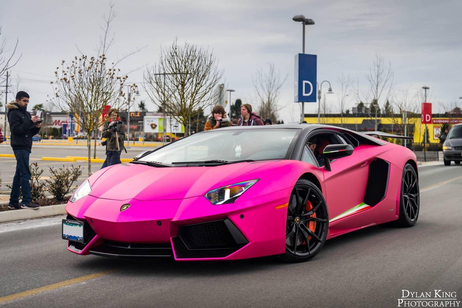 news lamborghini matte chrome pink lamborghini aventador in vancouver