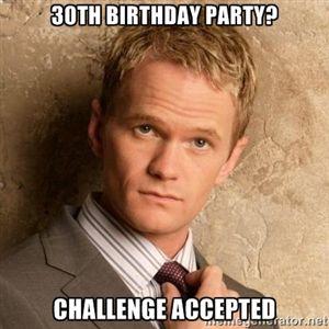 Geburtstag 30 meme