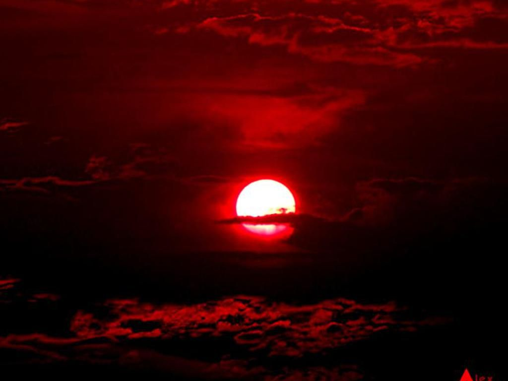 Image Detail for - Free Blood Red Sunset Wallpaper - Download The Free Blood Red Sunset ...