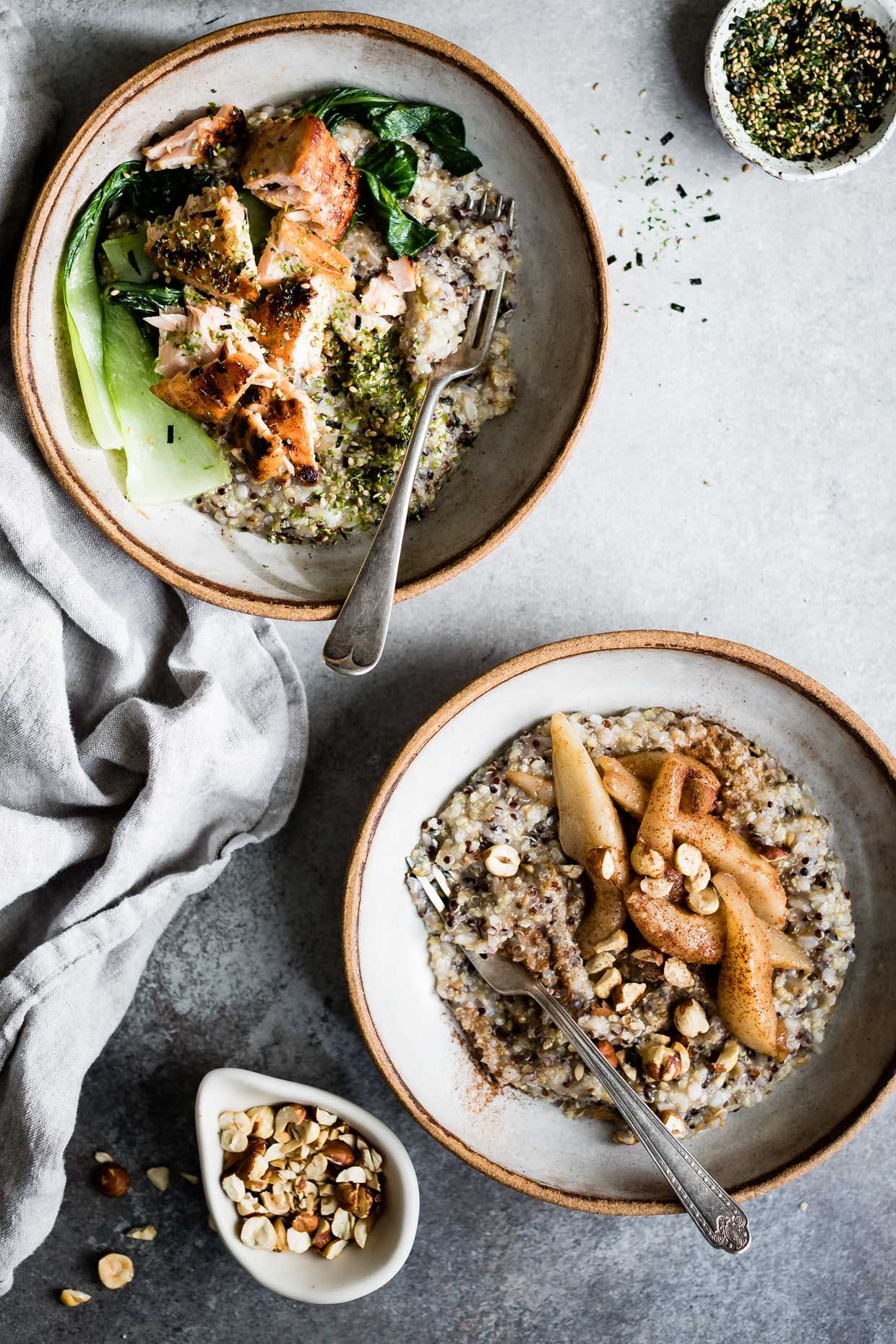 7 Sweet, Savory, And Nutrient-Rich Oatmeal Bowls