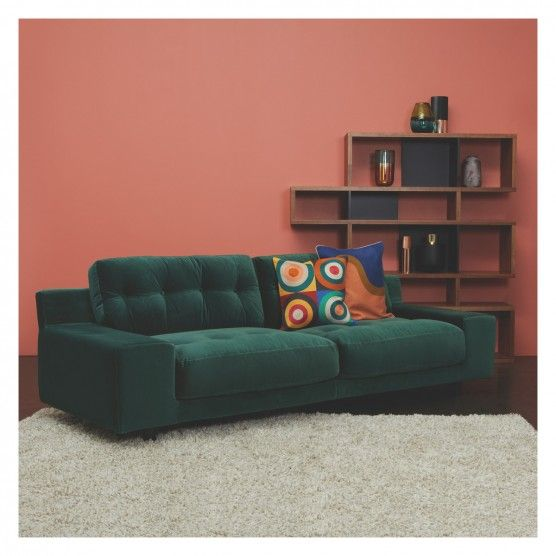 Pleasing Hendricks Orange Velvet 3 Seater Sofa Best Leather Sofa Caraccident5 Cool Chair Designs And Ideas Caraccident5Info