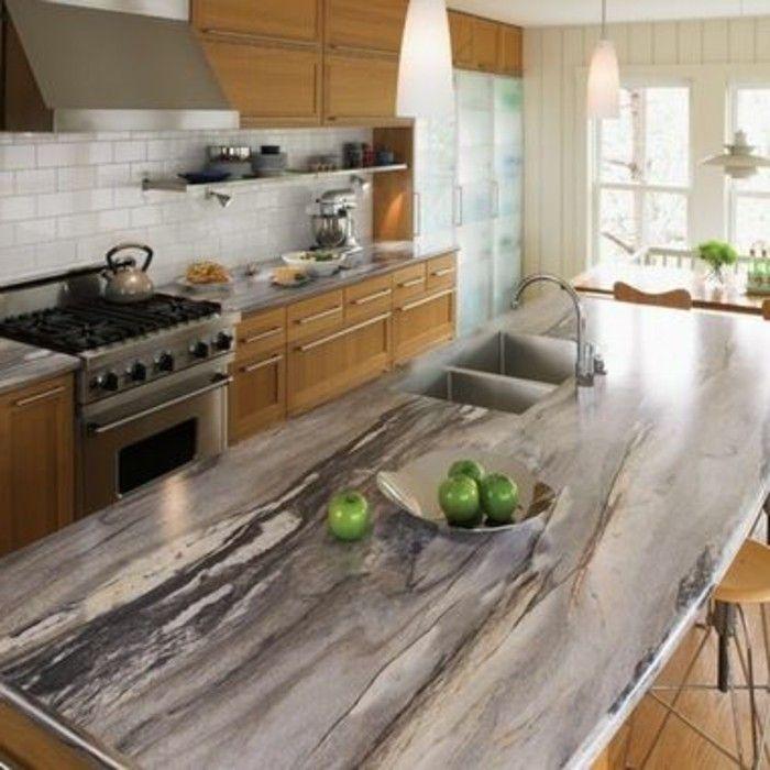 Cool Arbeitsplatte Marmor holz grüne | Tank | Pinterest | Marmor  ET06