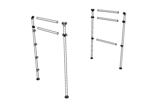 Loft+Bed+Frame+Drawing | Steel frames | Pinterest | Loft bed frame ...
