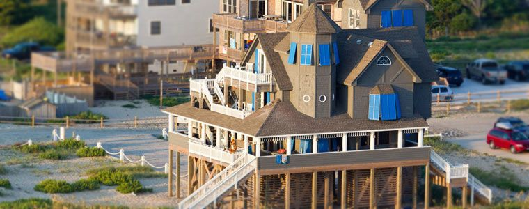 The Chicamacomico Lifesaving Station In Rodanthe NC Is Where