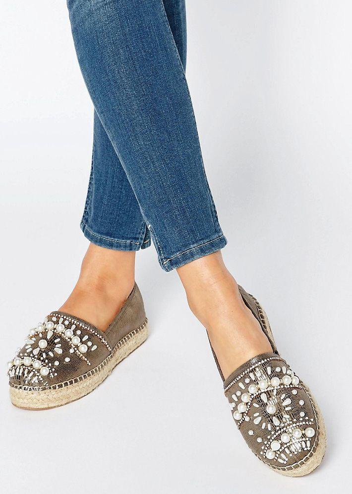 c69eff5d7 embellished espadrilles   shoes   Espadrilles, Embellished shoes ...