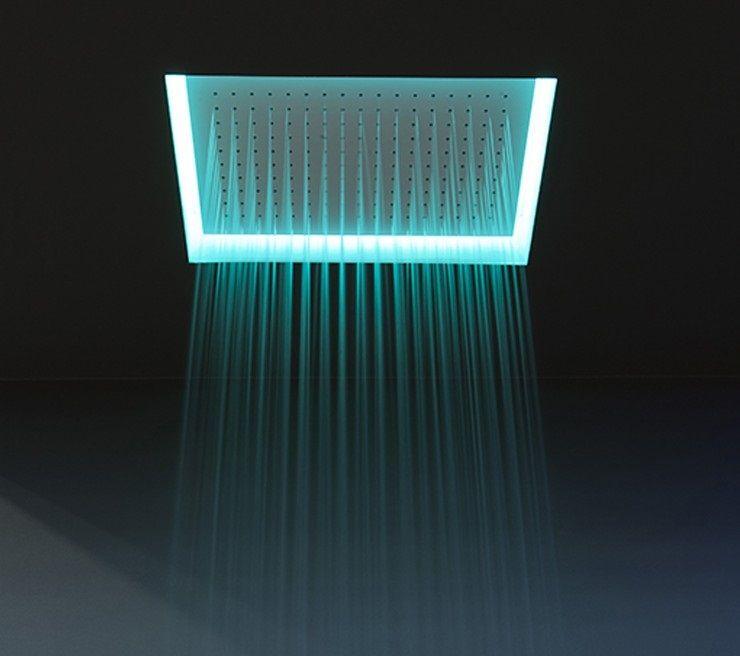 #antoniolupi #Meteo encased #showerhead in stainless steel METEO2 | #Stainless #steel | on #bathroom39.com at 1025 Euro/pc | #furniture #sanitary #accessories #taps #bath #design