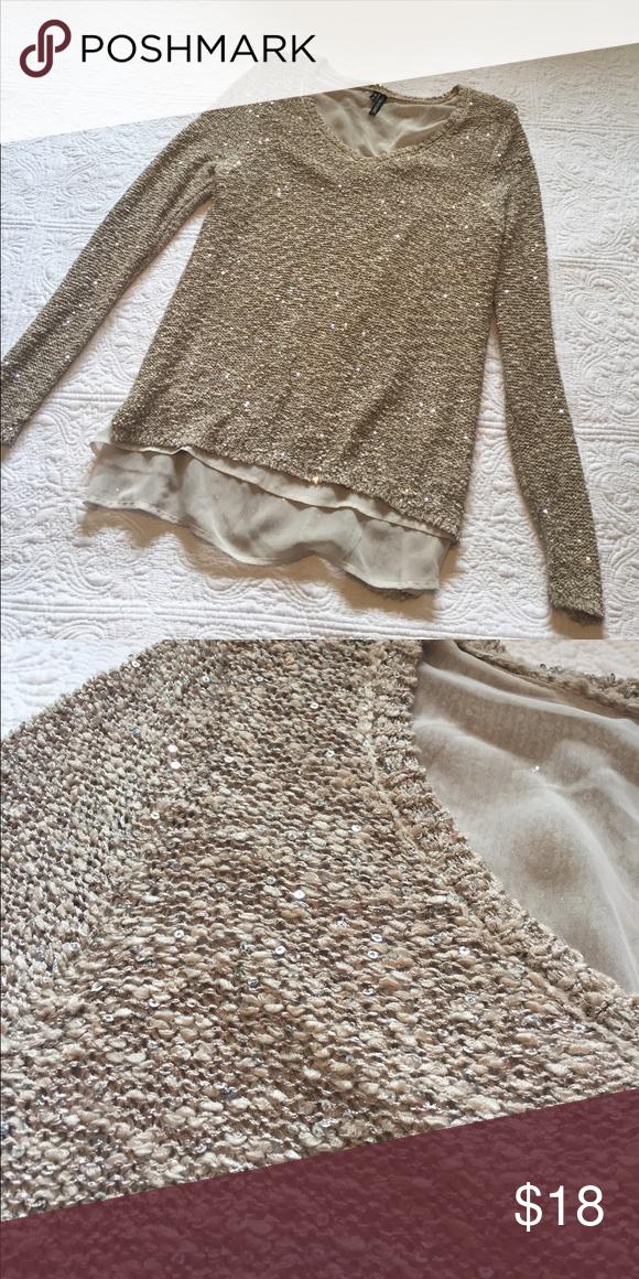 4fa2ef95025 Sequin Sweater Flowy