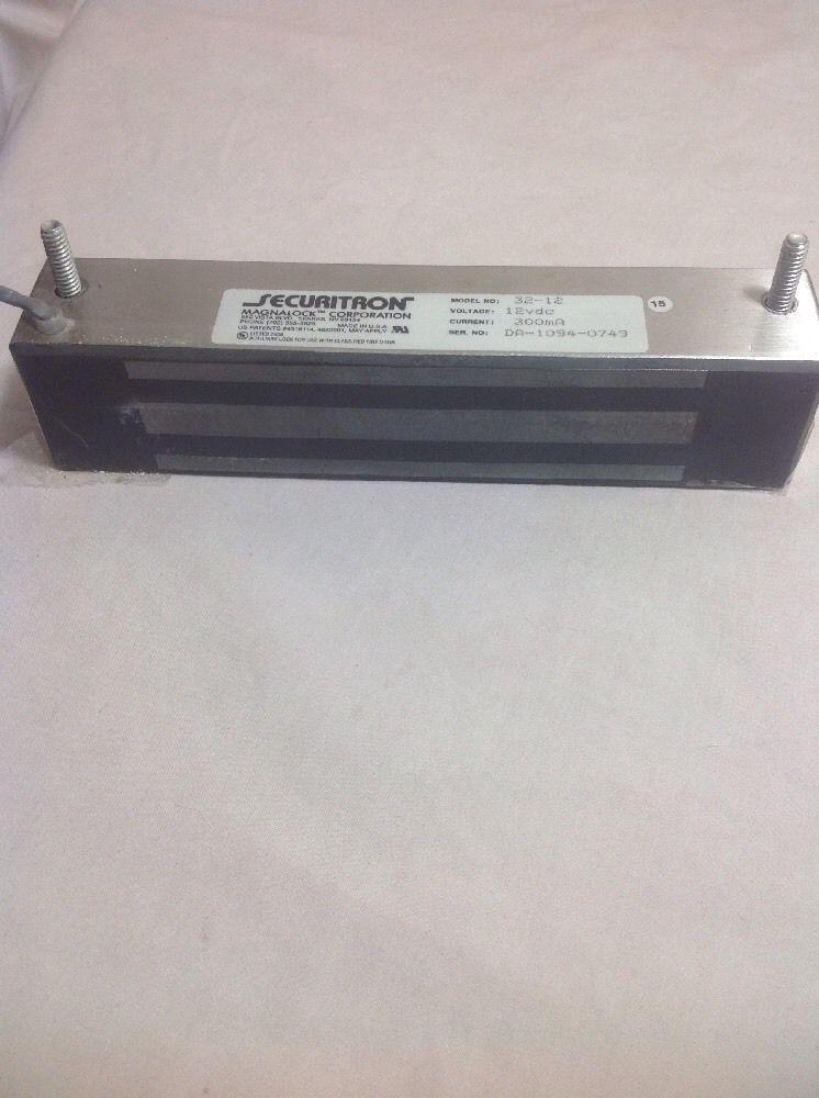 Securitron Magnalock M32 12 12vdc Magnalock Used Unbranded