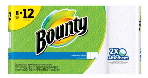 Score $1 off Bounty paper towels