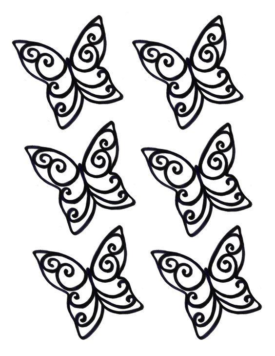 75 views | stencils | Pinterest | Chocolate butterflies, Chocolate ...