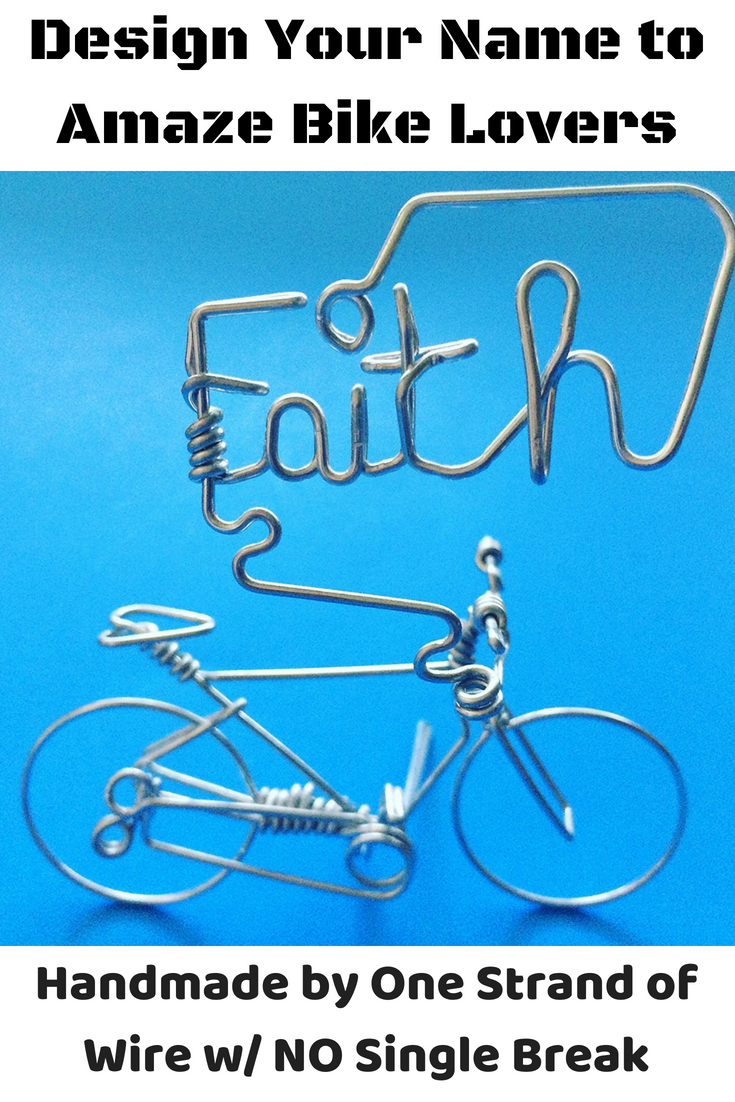 Custom Your Own Name Bike - Personalized Bicycle Decor Gifts ...
