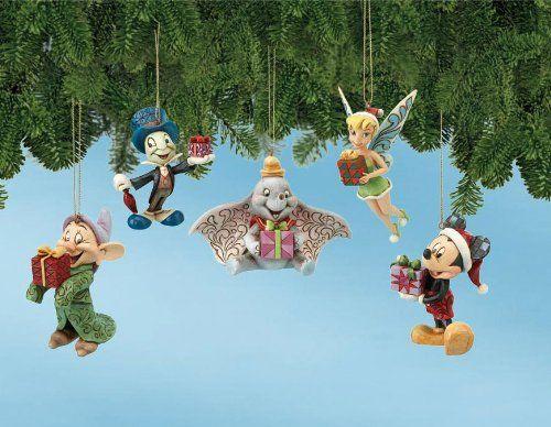 $61.50-$82.50 Jim Shore Disney Ornament Set - Disney ...
