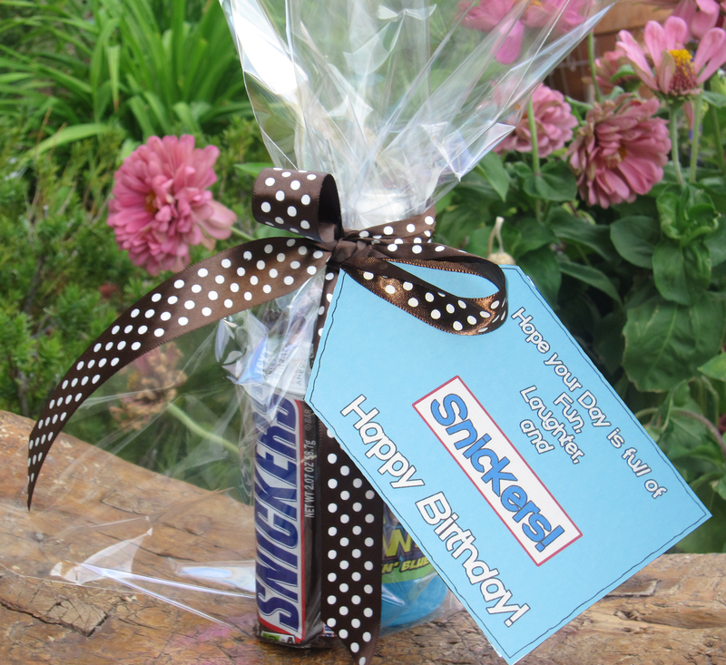 Clever Printable Candy Gift Tags For Birthdays