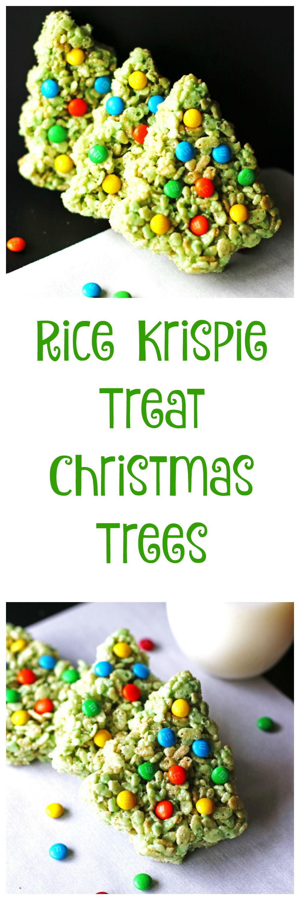 Rice Krispie Christmas Trees | Recipe | Christmas treats ...