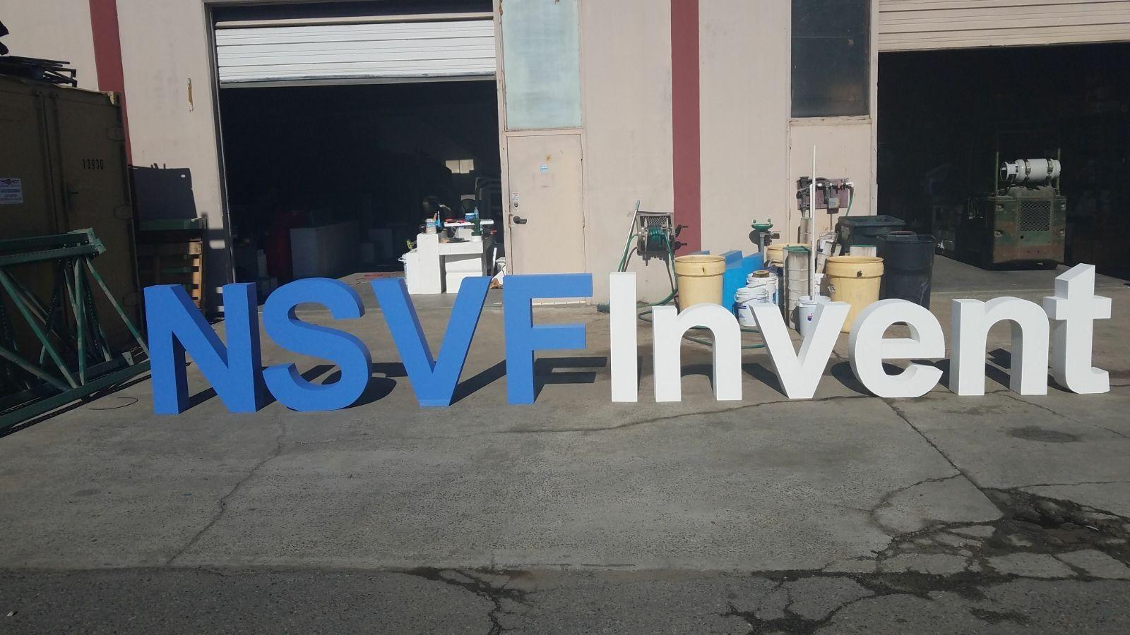 Large Foam Letters Sign Logo By Wecutfoam Www Wecutfoam Com Foam Letters Fiberglass Mold Outdoor Signs