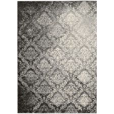 Santa Barbara Royal Shimmer Grey Area Rug