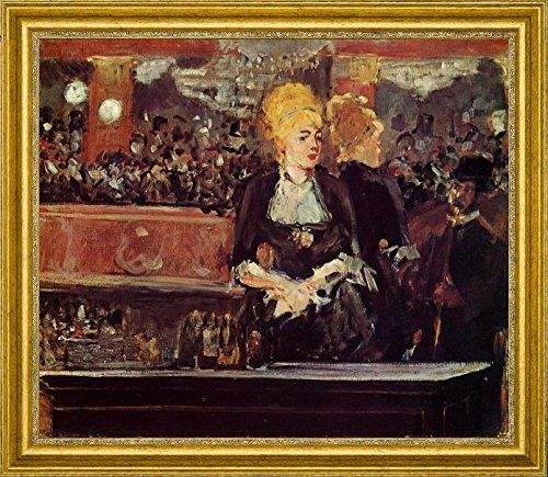 Study for 'A Bar at the Folies-Bergere' by Edouard Manet ... http://www.amazon.com/dp/B01AQ2JBJ2/ref=cm_sw_r_pi_dp_25Uhxb081KSH8