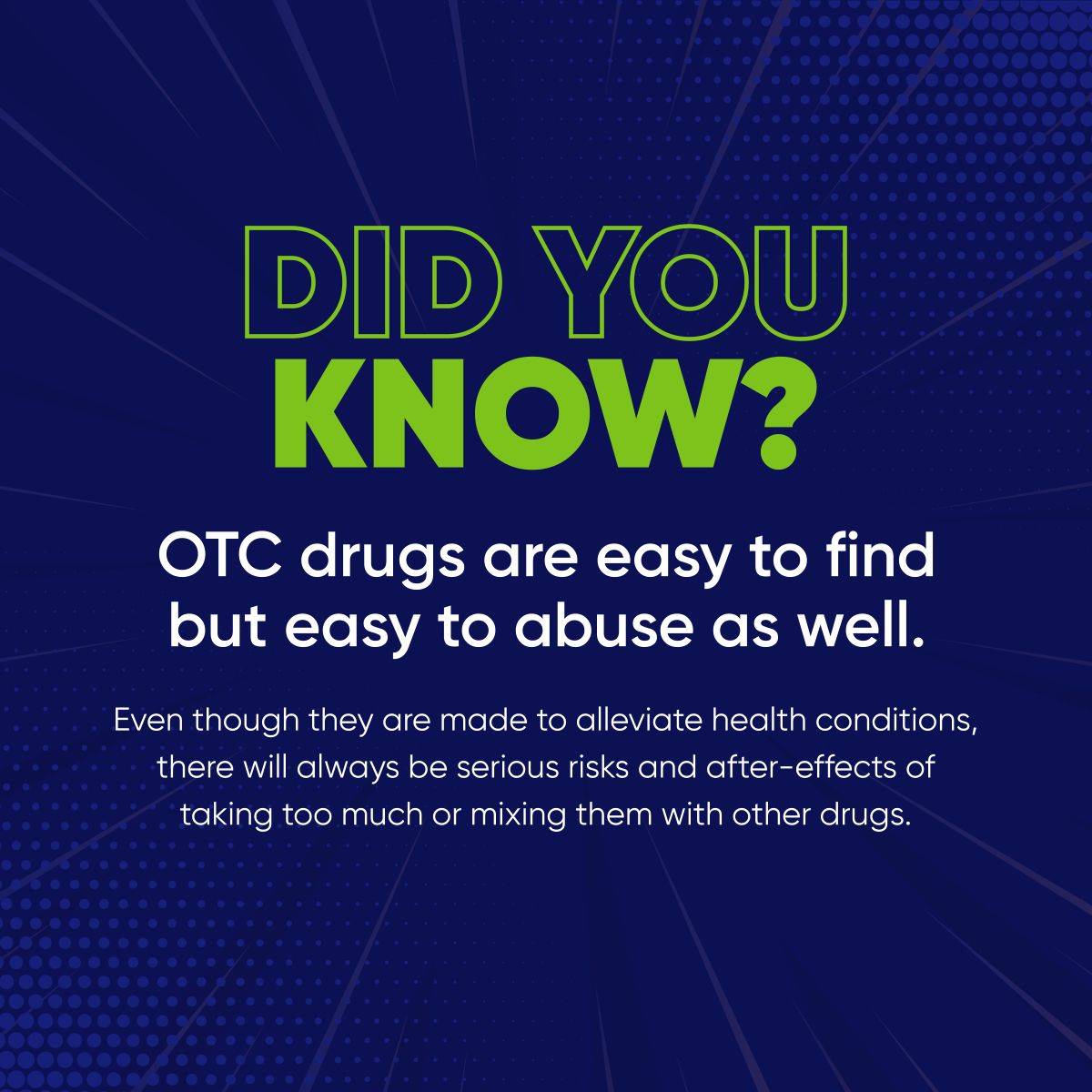 Did You Know? OTCDrugs SaveNCarePharmacy in 2020