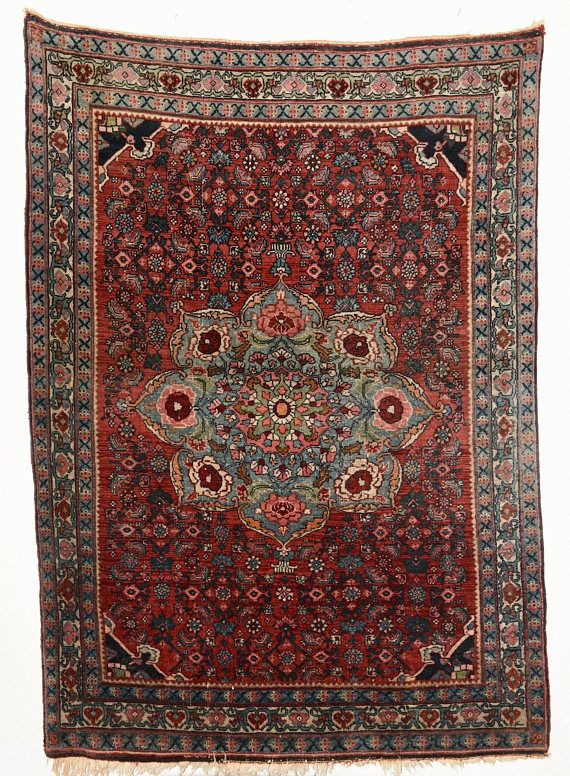 Persian Bidjar Rug Best Price Guarantee Bright Natural Color Handknotted Pure Wool Oriental And City Rugs