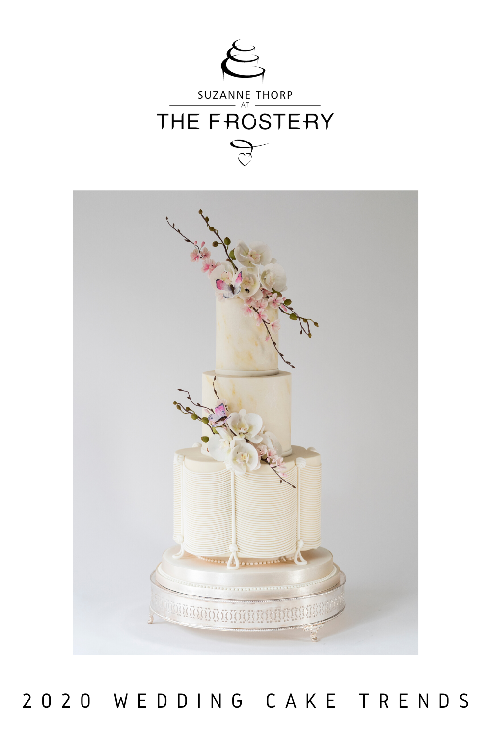 Discover our predictions for the top wedding cake trends