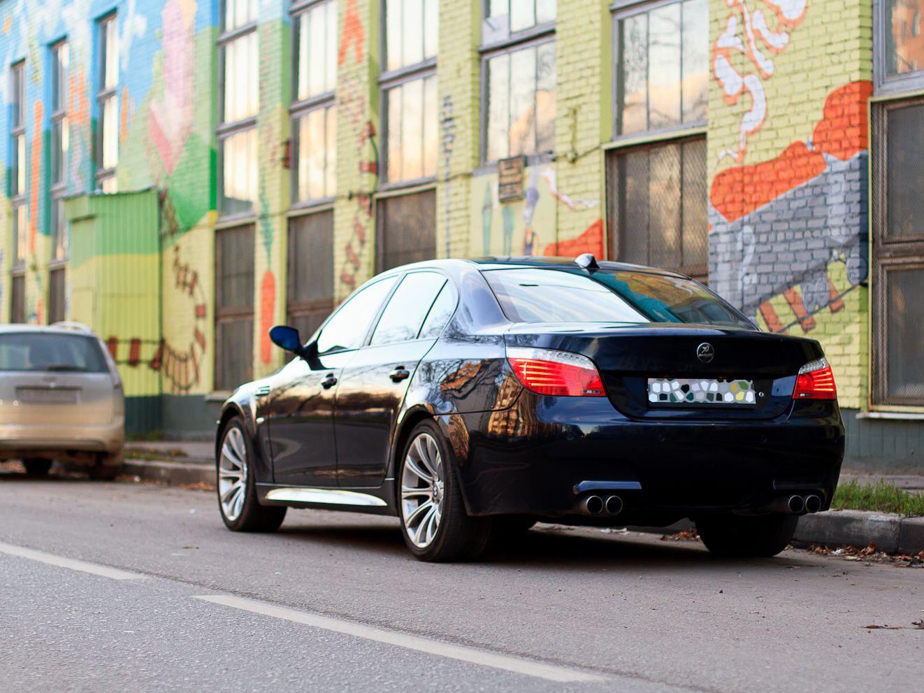 Bmw m5 e60 black