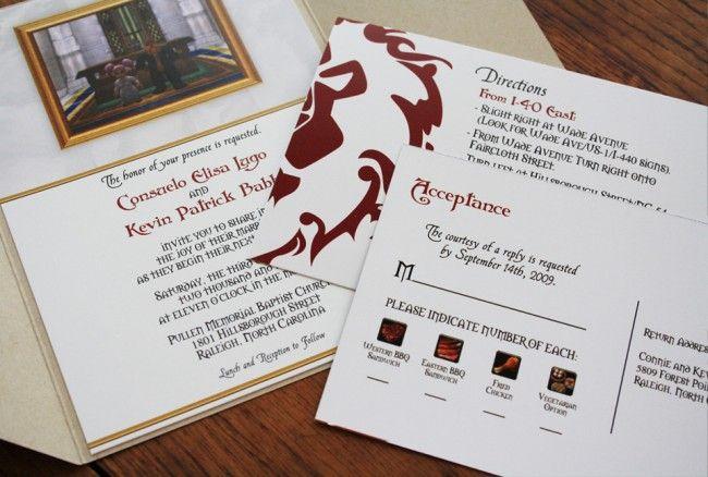 Wow Wedding Sealed With Appeal Geek Wedding Invitations Video Game Wedding Wedding Invitations