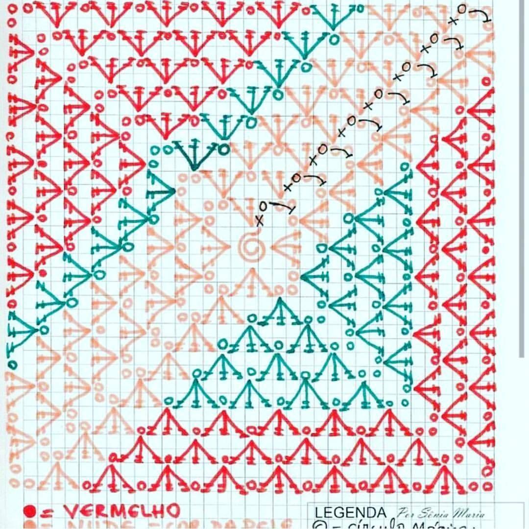 تريكو كورشيه خياطة كروشيه بالباترون كروشية صور فساتين كروشيه غرز كروشيه بالباترون با Granny Square Crochet Crochet Projects Crochet