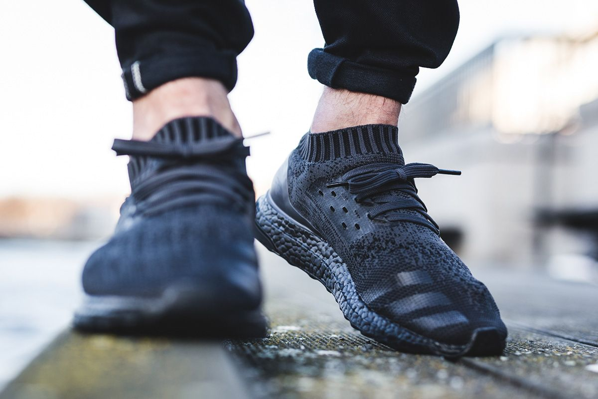"super popular dfb4c 2ebce On-Foot adidas Ultra Boost Uncaged ""Triple Black"""