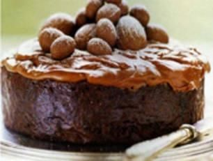 Chocolate Easter cake - if you love chocolate this cake is a must.