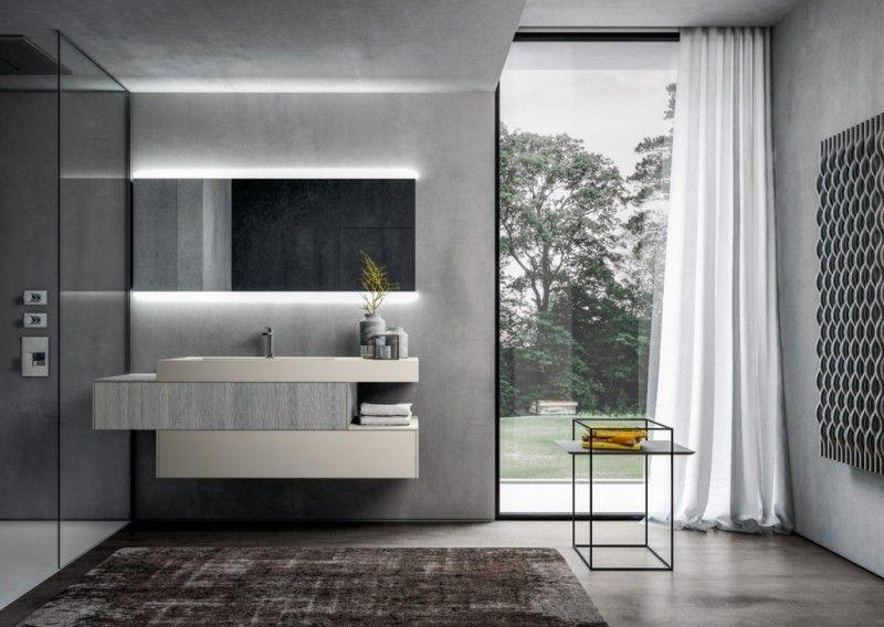 Modulare Badmöbel mit modernem Konzept bauen Pinterest - badezimmermöbel aus holz