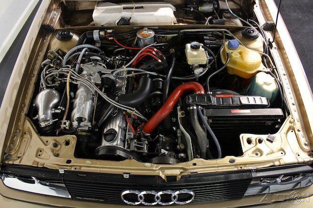 1983 AUDI UR-QUATTRO (Gobi Metallic) - 200 bhp, five-cylinder SOHC, KKK turbocharged Engine
