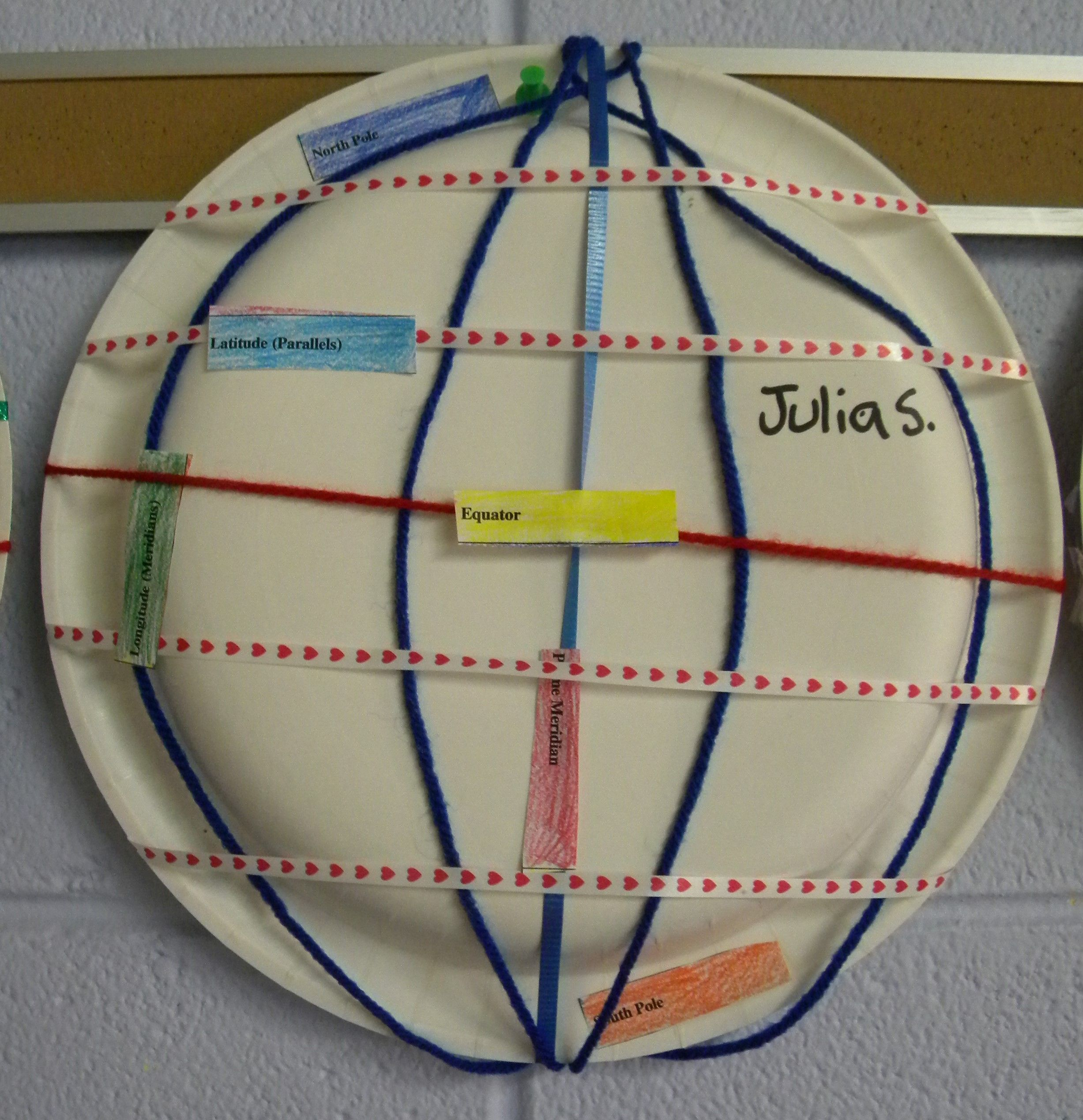Project Based Assessment Demonstrating Latitude