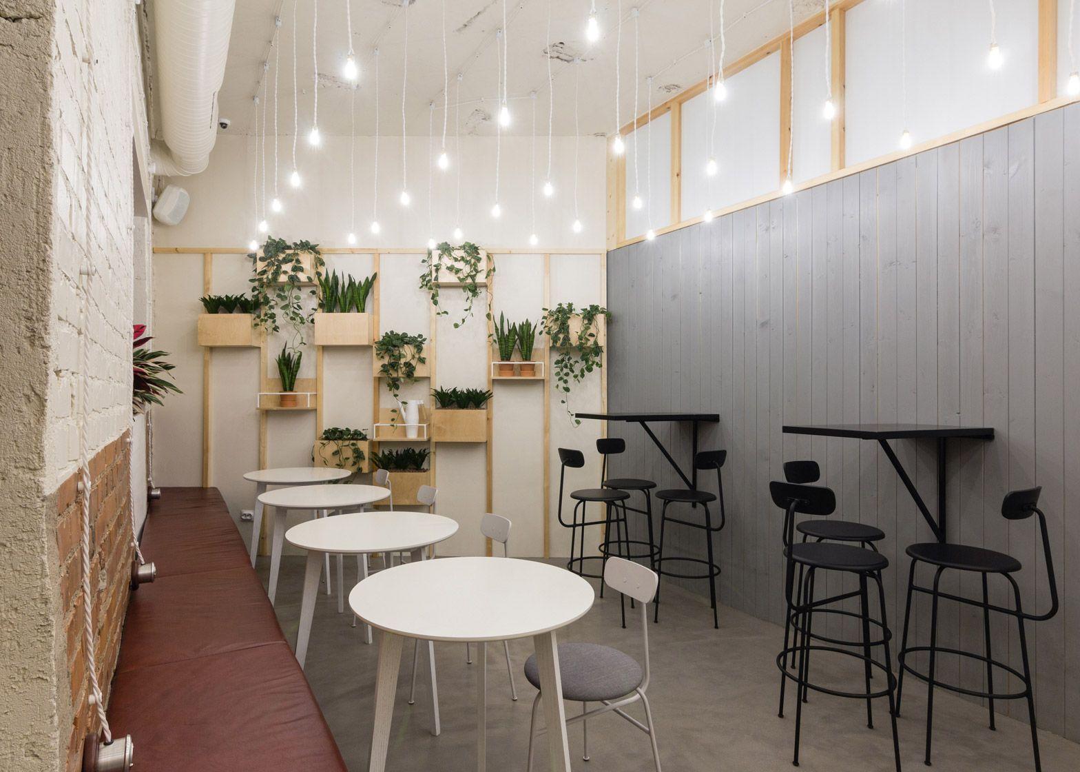 Baranova Pokorsky creates plant-filled cafe in St ...