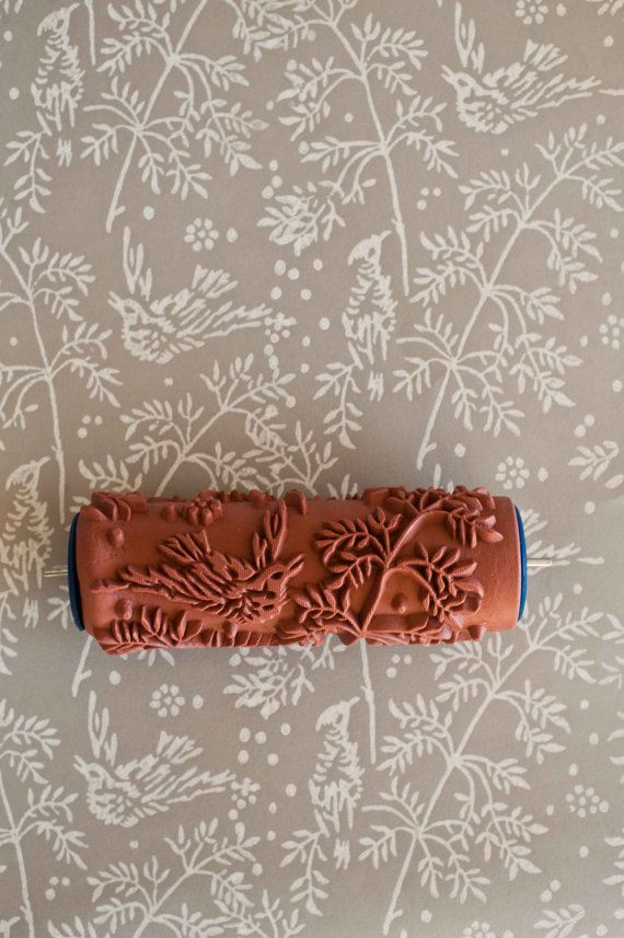 For the home decor DIY-er: clever paint rollers with gorgeous patterns that  mimic wallpaper. (or about house design designs house design design ideas