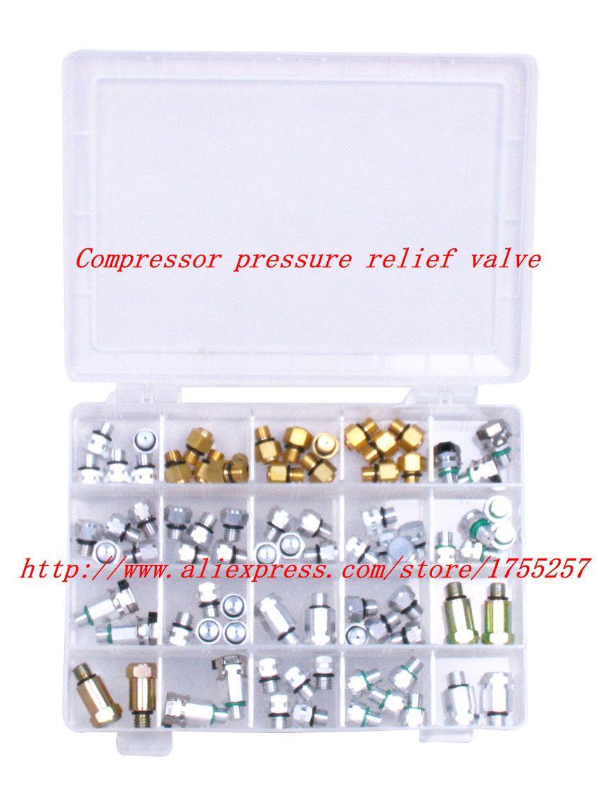 automotive ac compressor pressure relief valve