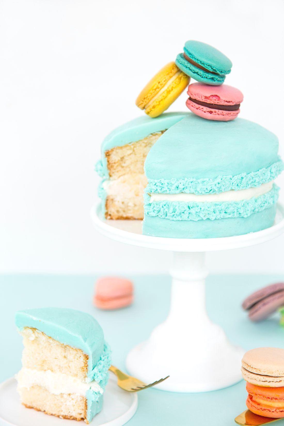 Easy Birthday Cake Birthdaycakedecorating