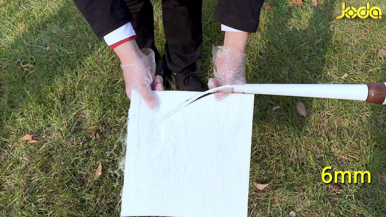 Joda 6mm Aerogel Insulating Blanket Hydrophobic Test | aerogel
