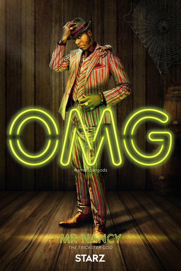 Everything You Need To Know About The Gods Of American Gods 映画 ポスター