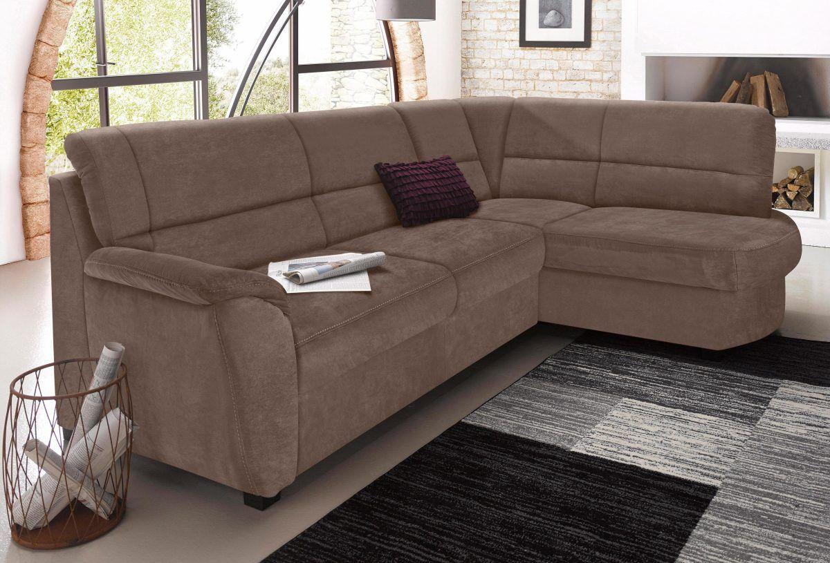 Wohnzimmer Garnituren ~ Sit&more polstergarnitur braun ottomane rechts fsc® zertifiziert