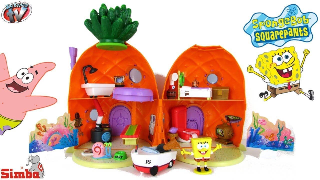 Spongebob Squarepants Pineapple House Playset Toy with Gary
