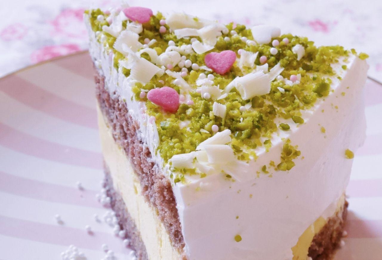 Safran Pistazien Torte Kuchen Und Torten Torten Pistazien
