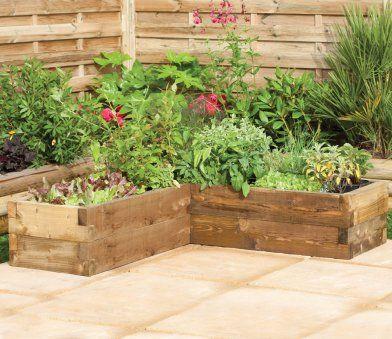 Forest Caledonian Corner Raised Bed Raised Garden Bed Corners