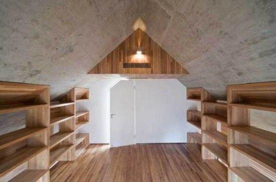 Wonderful Minimalist House with Concrete Frame \u2013 Slit House DREAM