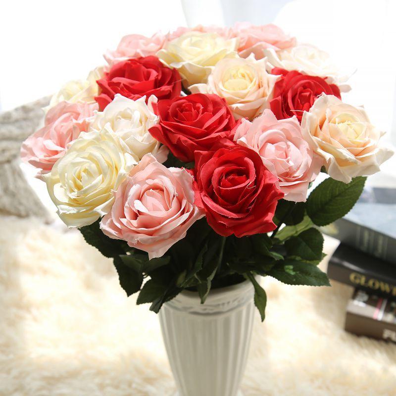 Artificial Bunch Fake Silk Daisy Flower Hydrangea Wedding Bouquet Valentine Gift
