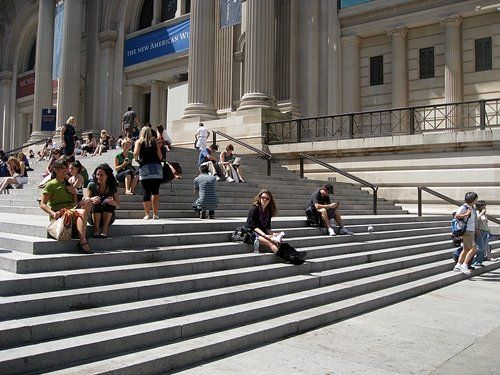 Gossip Girl Quotes About New York: Steps At The Metropolitan Museum Of Art NYC